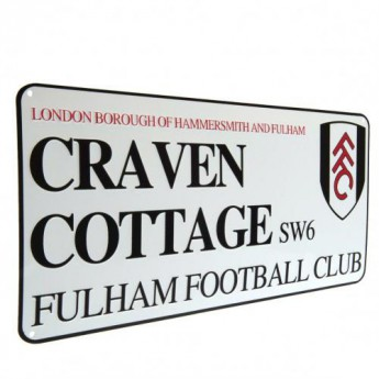 Fulham tablica na ścianę Street Sign