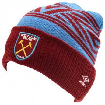 West Ham United czapka zimowa Umbro Cuff Beanie