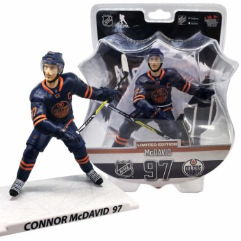 Edmonton Oilers figurka Connor McDavid #97 Imports Dragon Limited Edition
