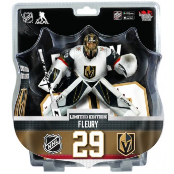 Vegas Golden Knights figurka Marc-Andre Fleury #29 mports Dragon Exclusive 2019-20 white
