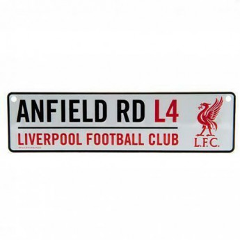 Liverpool tabliczka na okno Window Sign LB
