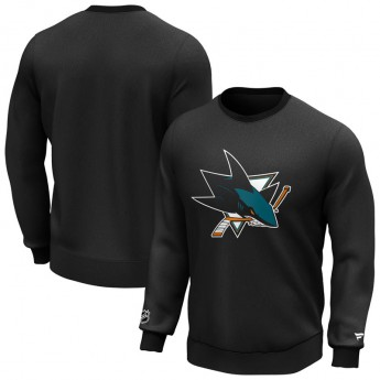 San Jose Sharks bluza męska Iconic Primary Colour Logo Graphic Crew