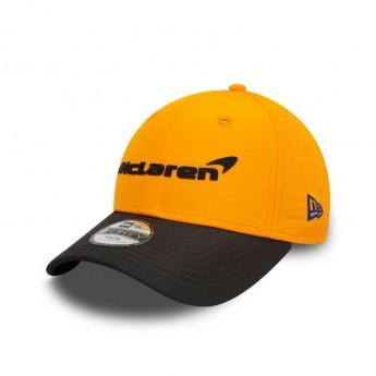 McLaren Honda dziecięca czapka baseballowa Sainz Orange F1 Team 2020