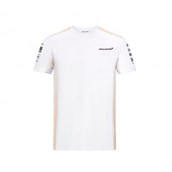 McLaren Honda koszulka męska White F1 Team 2021