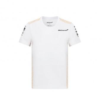 McLaren Honda koszulka dziecięca White F1 Team 2021