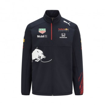 Red Bull Racing Dziecięca kurtka Teamwear Softshell F1 Team 2021