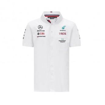 Mercedes AMG Petronas koszula męska White F1 Team 2021