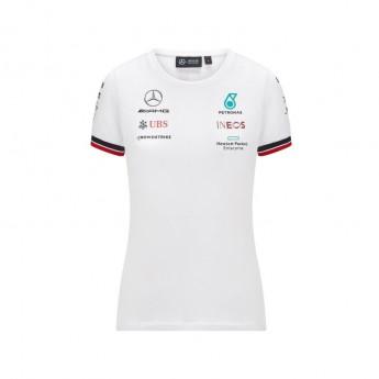 Mercedes AMG Petronas koszulka damska White F1 Team 2021