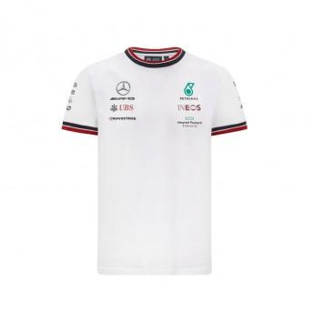 Mercedes AMG Petronas koszulka męska White F1 Team 2021