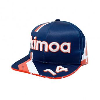 Alpine F1 czapka flat baseballówka Alonso Navy F1 Team 2021
