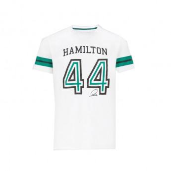 Mercedes AMG Petronas koszulka męska Lewis 44 white F1 Team 2021
