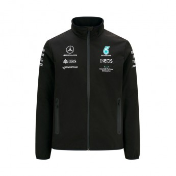Mercedes AMG Petronas kurtka męska Softshell Black F1 Team 2021