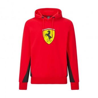 Ferrari męska bluza z kapturem PUMA Hoodie red F1 Team 2021