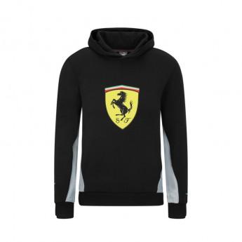 Ferrari dziecięca bluza z kapturem PUMA sweatshirt black F1 Team 2021