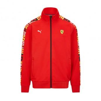 Ferrari bluza męska PUMA Track red F1 Team 2021