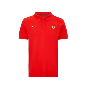 Ferrari męska koszulka polo Classic PUMA Red F1 Team 2021
