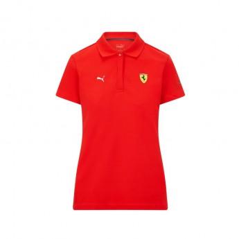 Ferrari damska koszulka polo Classic PUMA Red F1 Team 2021