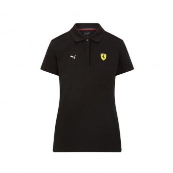 Ferrari damska koszulka polo Classic PUMA Black F1 Team 2021