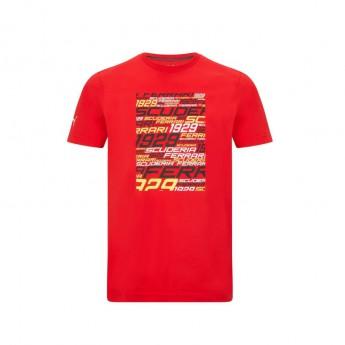 Ferrari koszulka męska Graphic PUMA Red F1 Team 2021