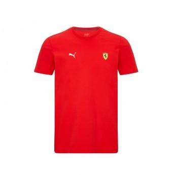 Ferrari koszulka męska Small Shield Red F1 Team 2021
