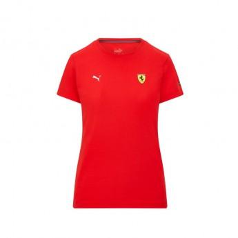 Ferrari koszulka męska Small Shield PUMA Red F1 Team 2021
