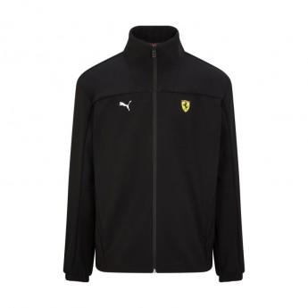 Ferrari kurtka męska Puma Logo Softshell black F1 Team 2021