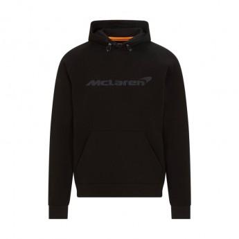 McLaren Honda męska bluza z kapturem Stealth Black F1 Team 2021