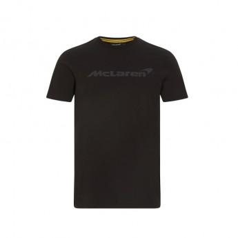 McLaren Honda koszulka męska Stealth Logo Black F1 Team 2021