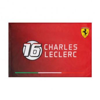 Ferrari flaga Charles Leclerc 16 F1 Team 2021