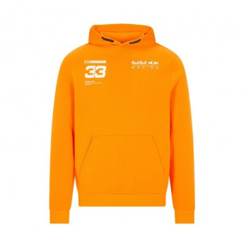 Red Bull Racing dziecięca bluza z kapturem Verstappen Orange F1 Team 2021