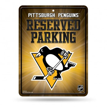 Pittsburgh Penguins tablica na ścianę Auto Reserved Parking