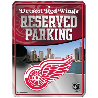 Detroit Red Wings tablica na ścianę Auto Reserved Parking