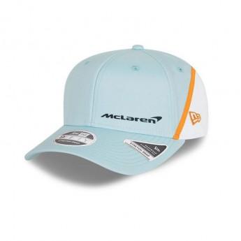 McLaren Honda czapka baseballówka Gulf blue-white F1 Team 2021