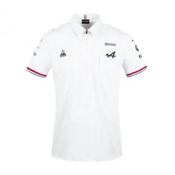 Alpine F1 męska koszulka polo White F1 Team 2021