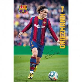 Barcelona plakat Griezmann 19