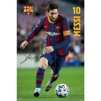 Barcelona plakat Messi 5