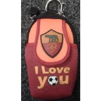 AS Roma etui na telefon i love you