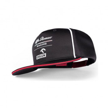 Alfa Romeo Racing czapka flat baseballówka Orlen black F1 Team 2021