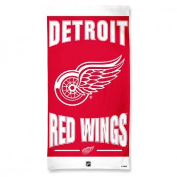 Detroit Red Wings ręcznik plażowy Wincraft
