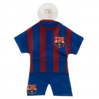 Barcelona minikoszulka do samochodu Mini Kit