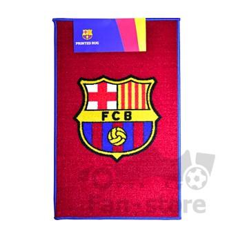 Barcelona wycieraczka rug logo