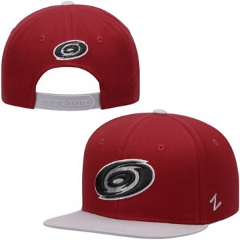 Carolina Hurricanes dziecięca czapka baseballowa red Pickoff Snapback