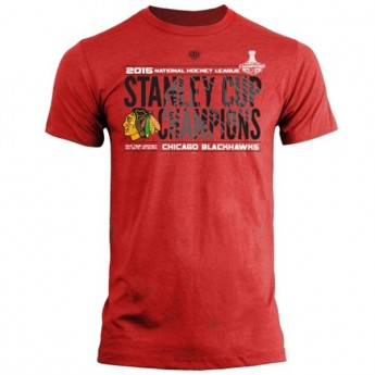 Chicago Blackhawks t-shirt 2015 Stanley Cup Champions Braun