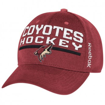 Arizona Coyotes czapka baseballówka purple Locker Room 2015