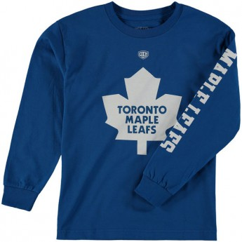 Toronto Maple Leafs t-shirt dziecięcy Old Time Hockey Two Hit Long Sleeve