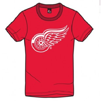 Detroit Red Wings koszulka męska red Majestic Jask