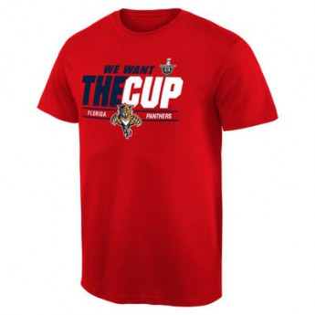 Florida Panthers t-shirt 2016 Stanley Cup Playoffs We Want The Cup