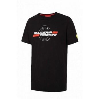 Scuderia Ferrari czarna koszulka męska Ferrari 1947