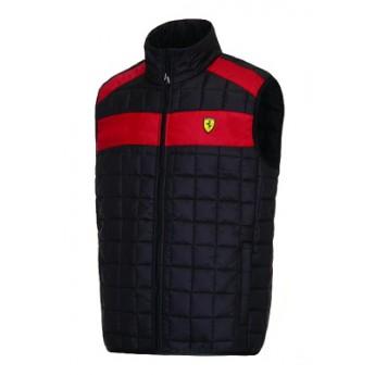 Scuderia Ferrari czarna kamizelka męska collection black