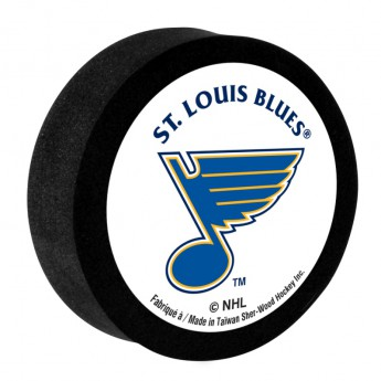 St. Louis Blues Krążek ze styropianu White Sher-Wood